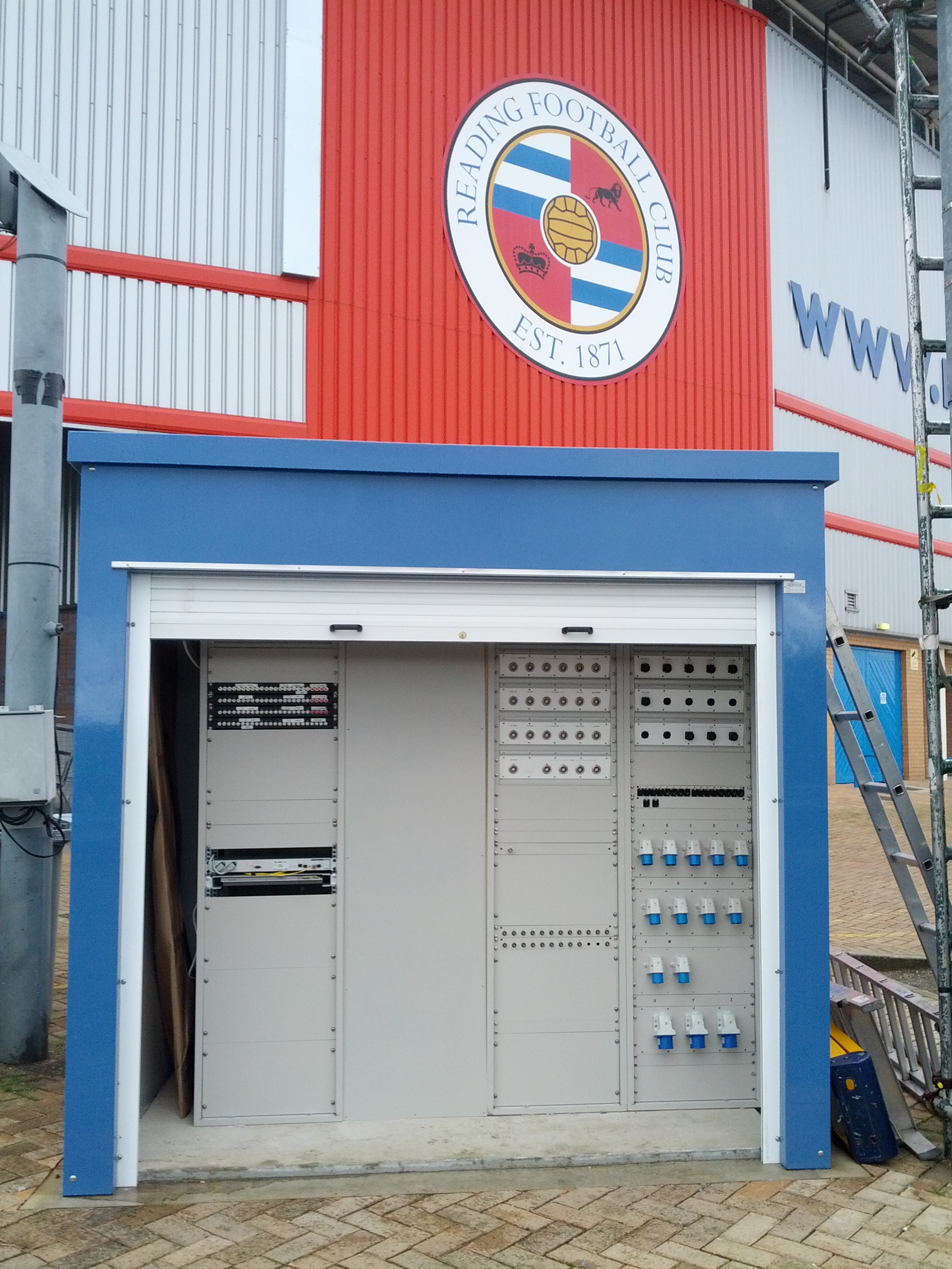 GRP Kiosk at The Madjeski Stadium Reading