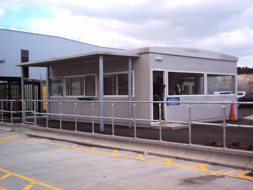GRP Office Building at Tesco Distribution Centre Thurrock