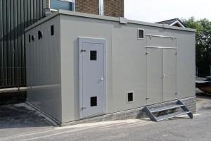 GRP Kiosk for RHI Biomass Boilers