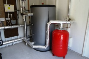 Water Tank for RHI Biomass Boiler System