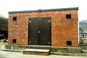 GRP Door and Frame - Double Door