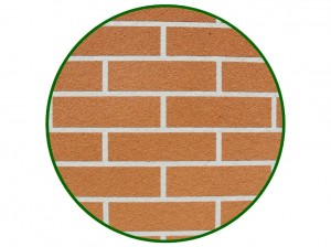 Simulated Brick Finish